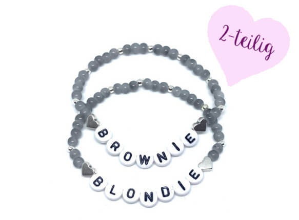 Armband Set Blondie Brownie